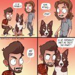 Is he friendly cartoon